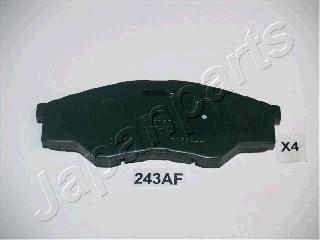Тормозные колодки дисковые MINTEX арт. PA-243AF
