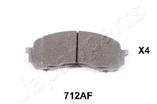 Тормозные колодки дисковые MINTEX арт. PA-712AF