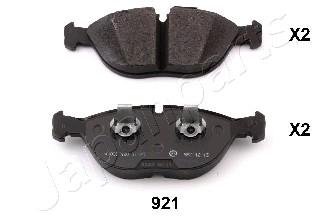 Тормозные колодки дисковые MINTEX арт. PA-921AF