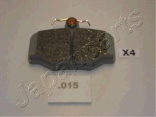 Тормозные колодки дисковые MINTEX арт. PP-015AF