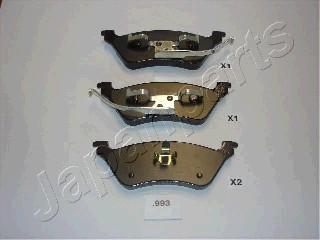 Тормозные колодки дисковые MINTEX арт. PP-993AF