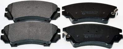 Тормозные колодки дисковые MINTEX арт. B111014