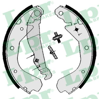 Комплект задних тормозных колодок MINTEX арт. 04640