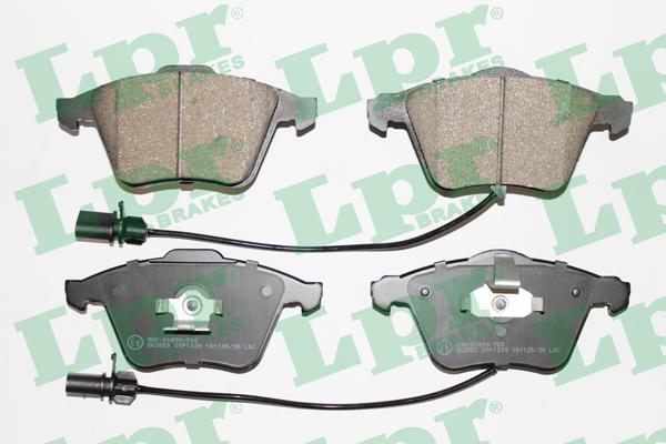Тормозные колодки передние дисковые MINTEX арт. 05P1239