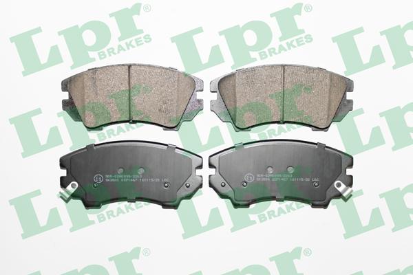 Тормозные колодки передние дисковые MINTEX арт. 05P1467