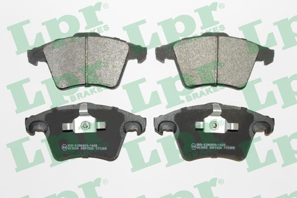 Тормозные колодки дисковые MINTEX арт. 05P1526