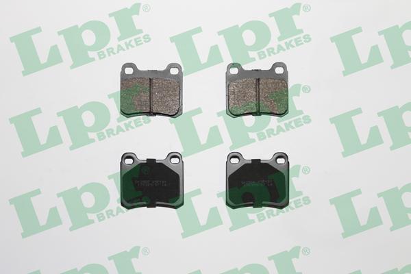Тормозные колодки задние дисковые MINTEX арт. 05P181