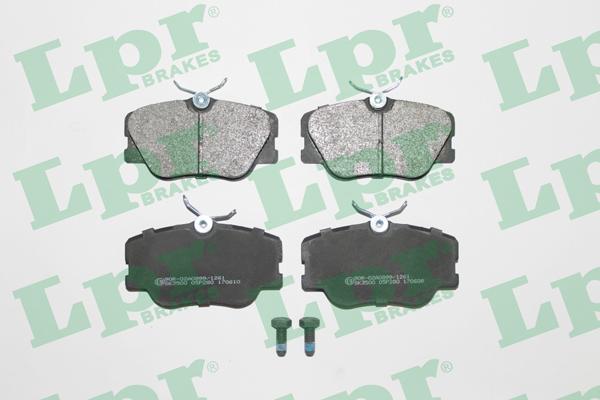 Тормозные колодки передние дисковые MINTEX арт. 05P280