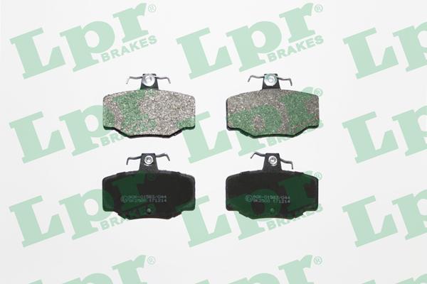 Тормозные колодки задние дисковые MINTEX арт. 05P387