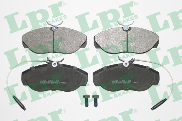 Тормозные колодки передние дисковые MINTEX арт. 05P493