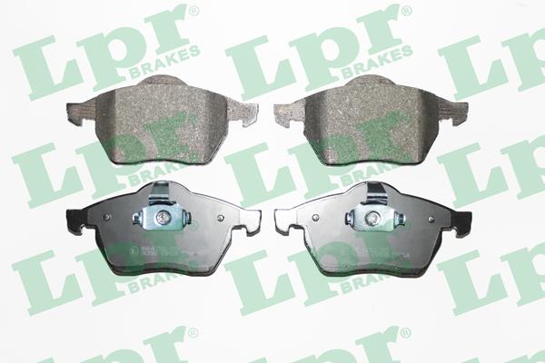 Тормозные колодки передние дисковые MINTEX арт. 05P635