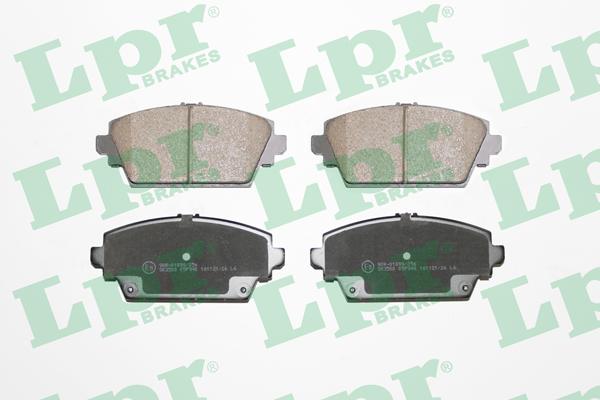 Тормозные колодки передние дисковые MINTEX арт. 05P940