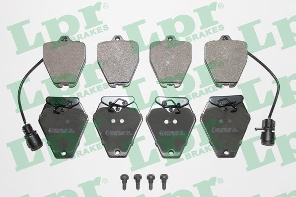 Тормозные колодки передние дисковые MINTEX арт. 05P981