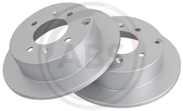 Тормозной диск задний MINTEX арт. 17207