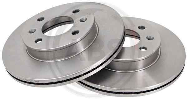 Тормозной диск передний MINTEX арт. 17549