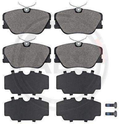 Тормозные колодки передние дисковые MINTEX арт. 36556