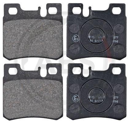 Тормозные колодки задние дисковые MINTEX арт. 36687