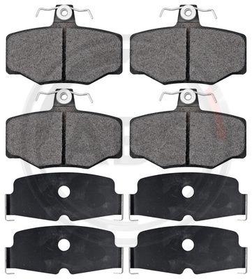 Тормозные колодки задние дисковые MINTEX арт. 36741