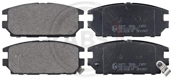Тормозные колодки задние дисковые MINTEX арт. 36873
