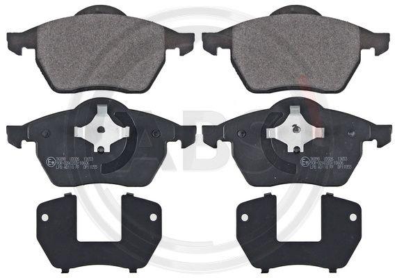 Тормозные колодки передние дисковые MINTEX арт. 36898