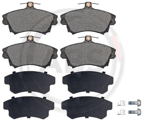 Тормозные колодки дисковые MINTEX арт. 37020