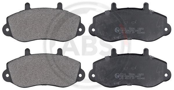 Тормозные колодки передние дисковые MINTEX арт. 37111