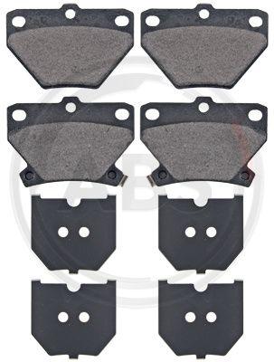 Тормозные колодки дисковые MINTEX арт. 37136