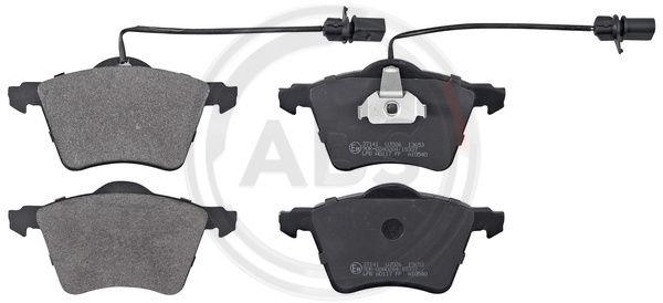 Тормозные колодки передние дисковые MINTEX арт. 37141