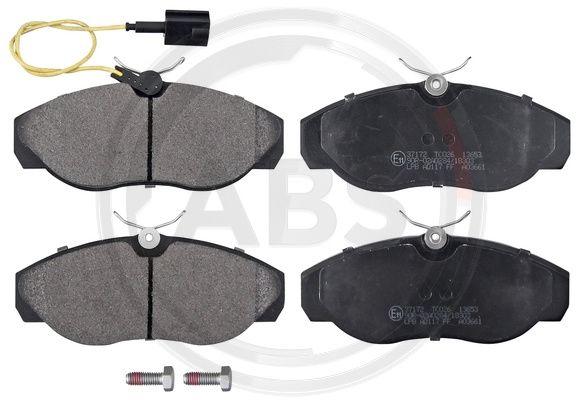 Тормозные колодки передние дисковые MINTEX арт. 37172