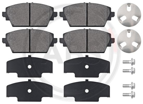Тормозные колодки передние дисковые MINTEX арт. 37205