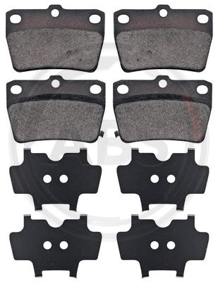 Тормозные колодки дисковые MINTEX арт. 37227