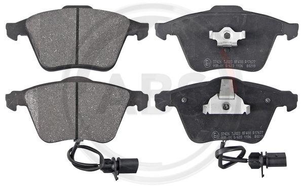 Тормозные колодки передние дисковые MINTEX арт. 37426