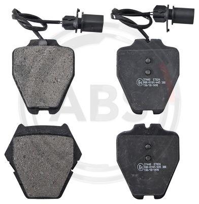 Тормозные колодки передние дисковые MINTEX арт. 37448