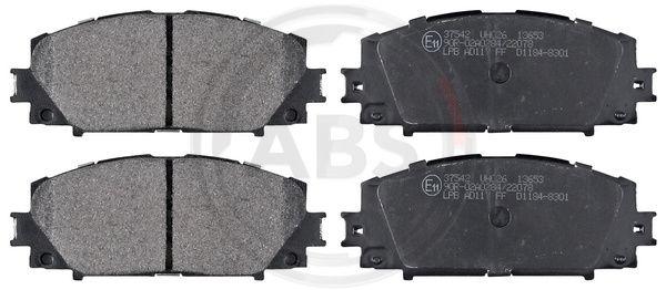 Тормозные колодки дисковые MINTEX арт. 37542