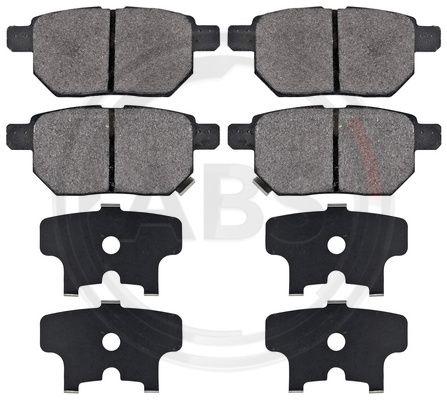 Тормозные колодки задние дисковые MINTEX арт. 37580