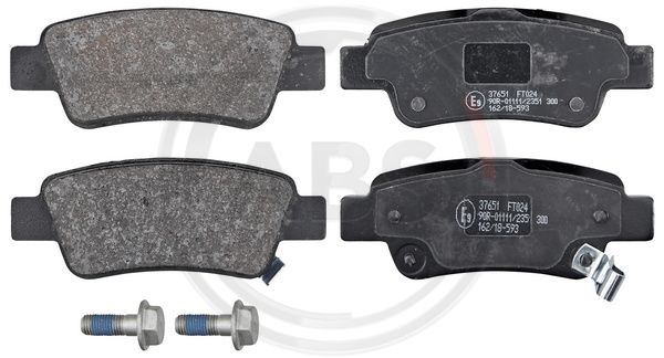 Тормозные колодки дисковые MINTEX арт. 37651