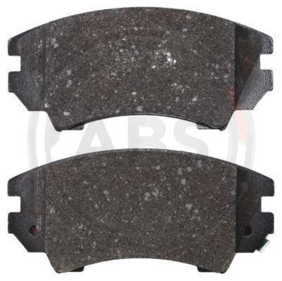 Тормозные колодки передние дисковые MINTEX арт. 37683