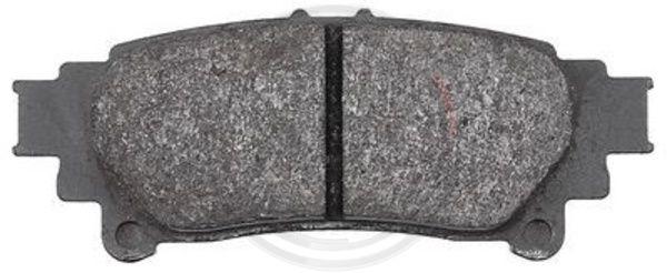 Тормозные колодки дисковые MINTEX арт. 37815