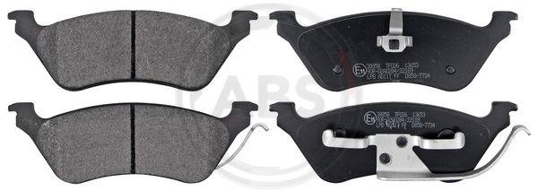 Тормозные колодки задние дисковые MINTEX арт. 38858
