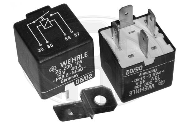 Реле, рабочий ток HERTH+BUSS ELPARTS арт. 661114