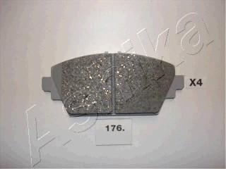 Тормозные колодки дисковые MINTEX арт. 50-01-176