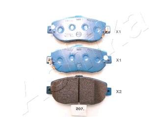 Тормозные колодки передние дисковые MINTEX арт. 50-02-207