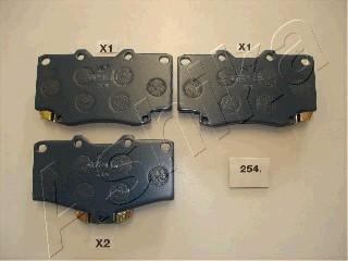 Тормозные колодки передние дисковые MINTEX арт. 50-02-254
