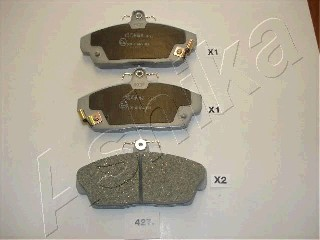 Тормозные колодки передние дисковые MINTEX арт. 50-04-427