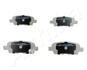 Тормозные колодки задние дисковые MINTEX арт. 51-01-154