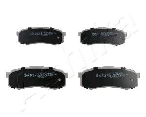 Тормозные колодки задние дисковые MINTEX арт. 51-02-210