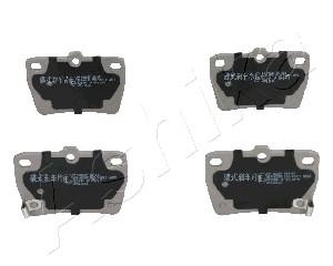 Тормозные колодки задние дисковые MINTEX арт. 51-02-256