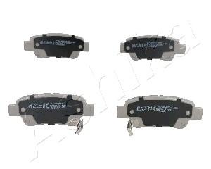 Тормозные колодки задние дисковые MINTEX арт. 51-04-400