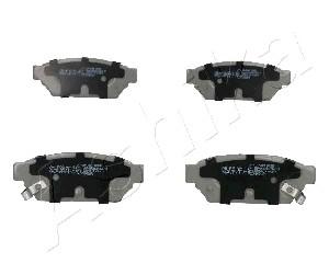 Тормозные колодки задние дисковые MINTEX арт. 51-05-504