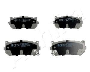 Тормозные колодки задние дисковые MINTEX арт. 51-0K-K00